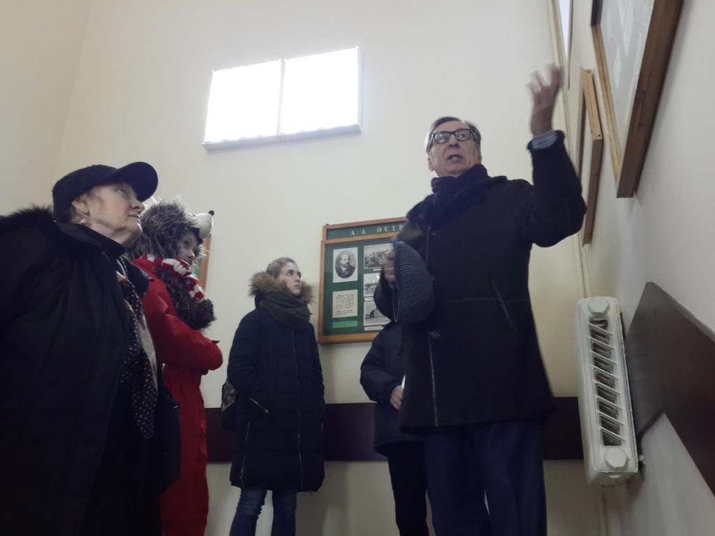 Клуб краеведов Сокольников провел экскурсию в больницу имени Бахрушиных