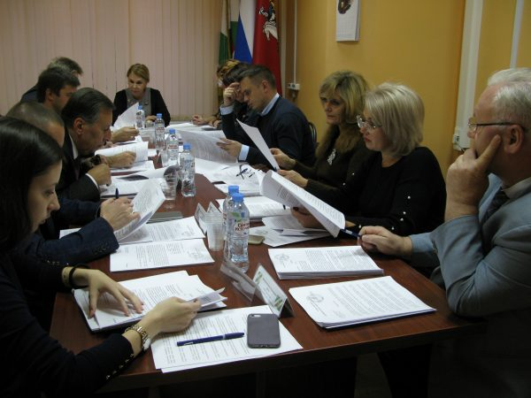 Народные избранники Сокольников собрались на внеочередное заседание