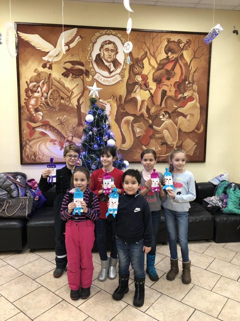 Сотрудники детской библиотеки проведут для детей новогодние викторины