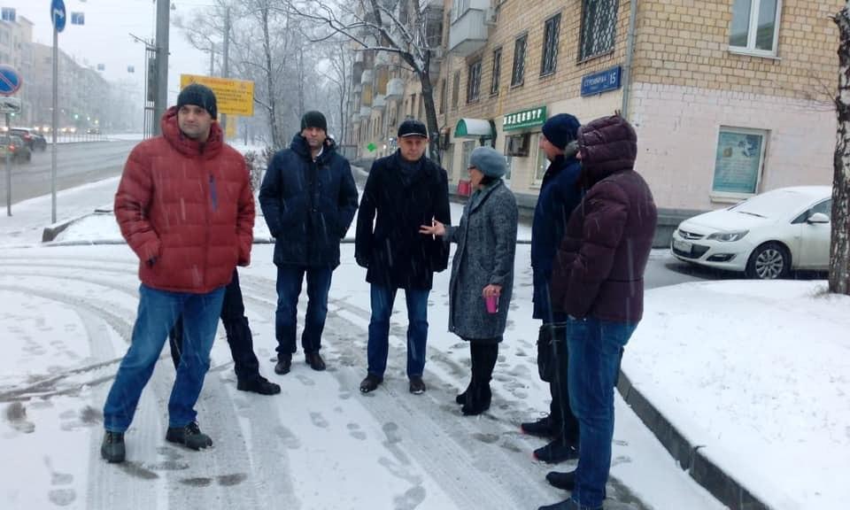 Глава управы проведет субботний обход по улице Шумкина