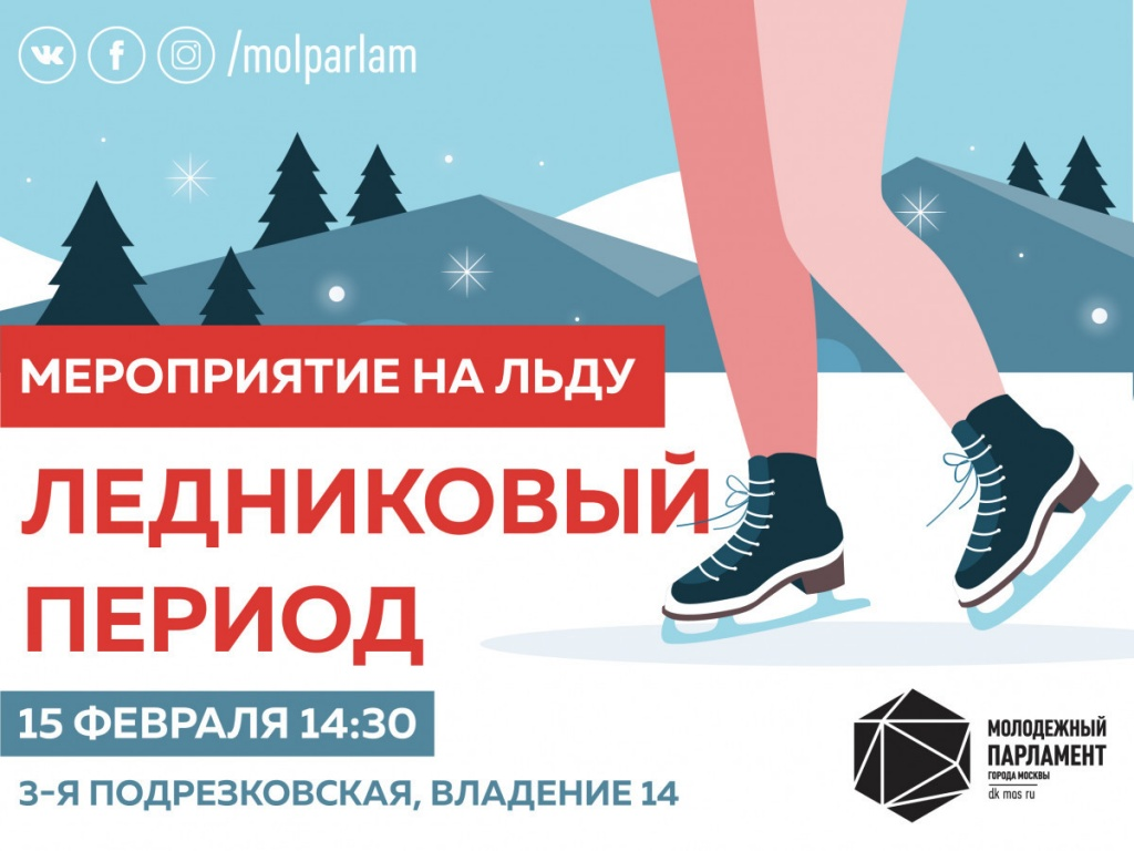 Жители Москвы смогут весело провести выходной день на катке